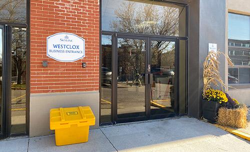Westclox Entrance for East City Dental